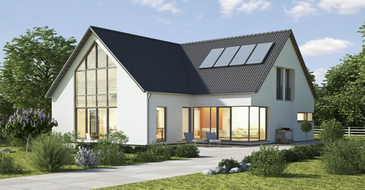 Der bau eines energiesparhauses haus co magazin - Extension de maison en bois prix au m2 ...