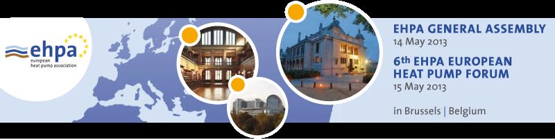 Heizungsfinder ist offizieller Medienpartner des sechsten europäischen Wärmepumpen-Forums in Brüssel