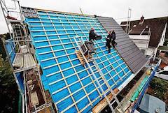 Dach vom Fach - Schrägdach-Komplettlösung mit hohem Schallschutz