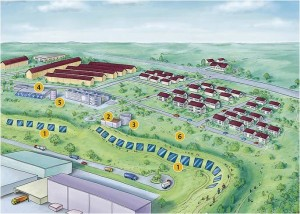 Deutschlands groesste Solarthermieanlage mit Erdsondenwaermespeicher eingeweiht_Grafik_Stadtwerke Crailsheim GmbH