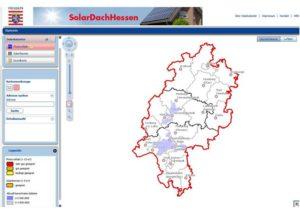Hessen stellt erste Kommunen im Solardachkataster vor_Grafik_Land Hessen