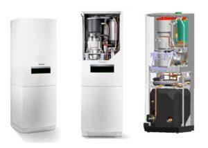 Kosten von Nano-BHKW im Überblick - hier: Buderus Logavolt mit 1 kW Gas-Sterlingmotor (Grafik: Buderus)