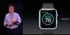 Honeywell lässt die Heizung künftig auch per Smartwatch regeln