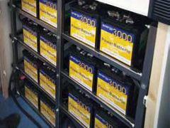 Akkus der Energy 3000 Powerstation von SMA Solar