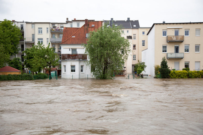 Hochwasser in Gera im Juni 2016 | Bildquelle: © science photo - Fotolia.com