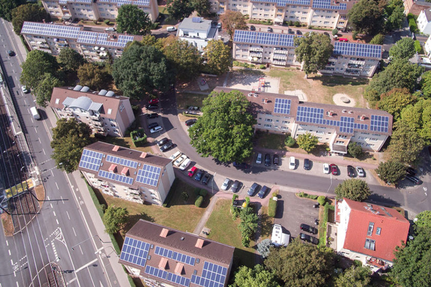 Solares Mieterstromprojekt in Frankfurt am Main