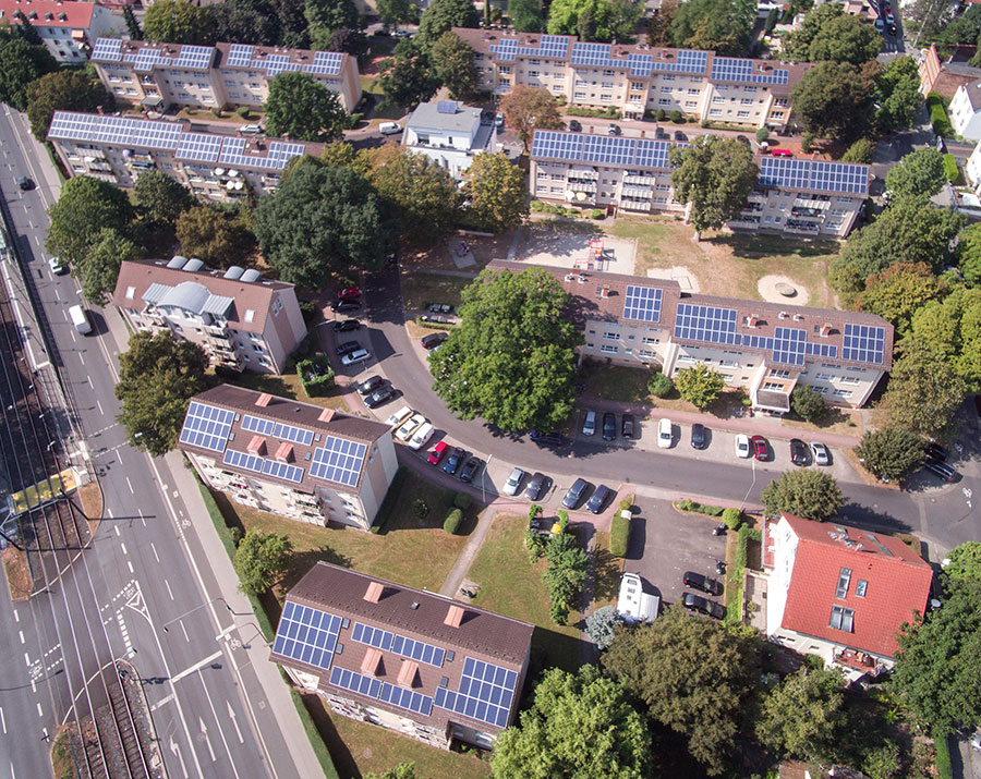 Solares Mieterstromprojekt in Frankfurt am Main