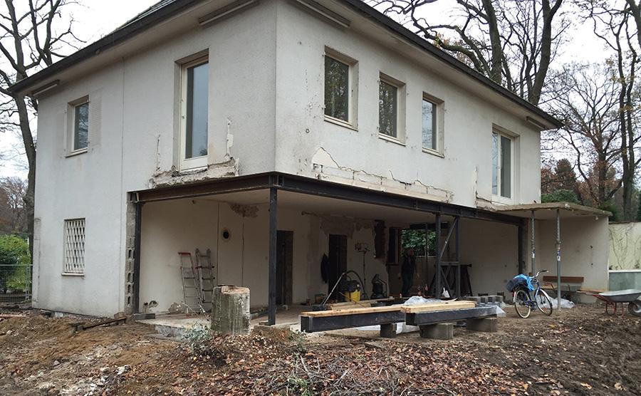Ansicht vor dem Umbau. | Bildnachweis: Erika Werres
