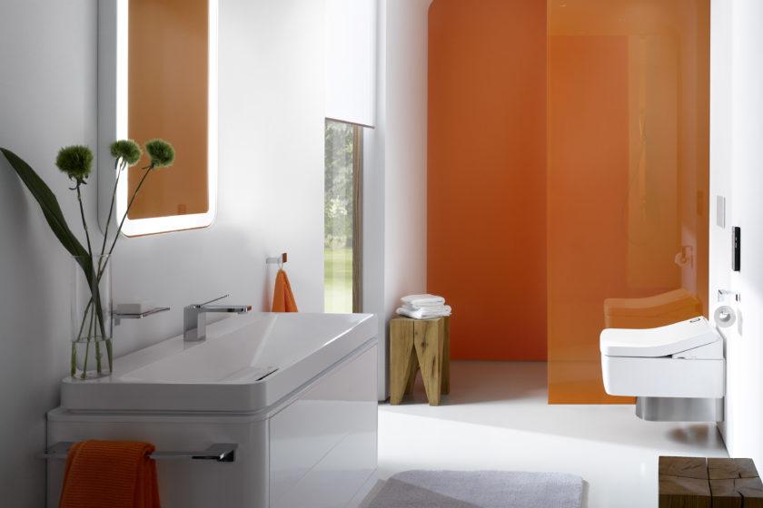 Das Gästebad sollte dem Design beziehungsweise der Einrichtung der Bauherrschaft angepasst sein und den gleichen Qualitätsanspruch widerspiegeln. Foto: TOTO