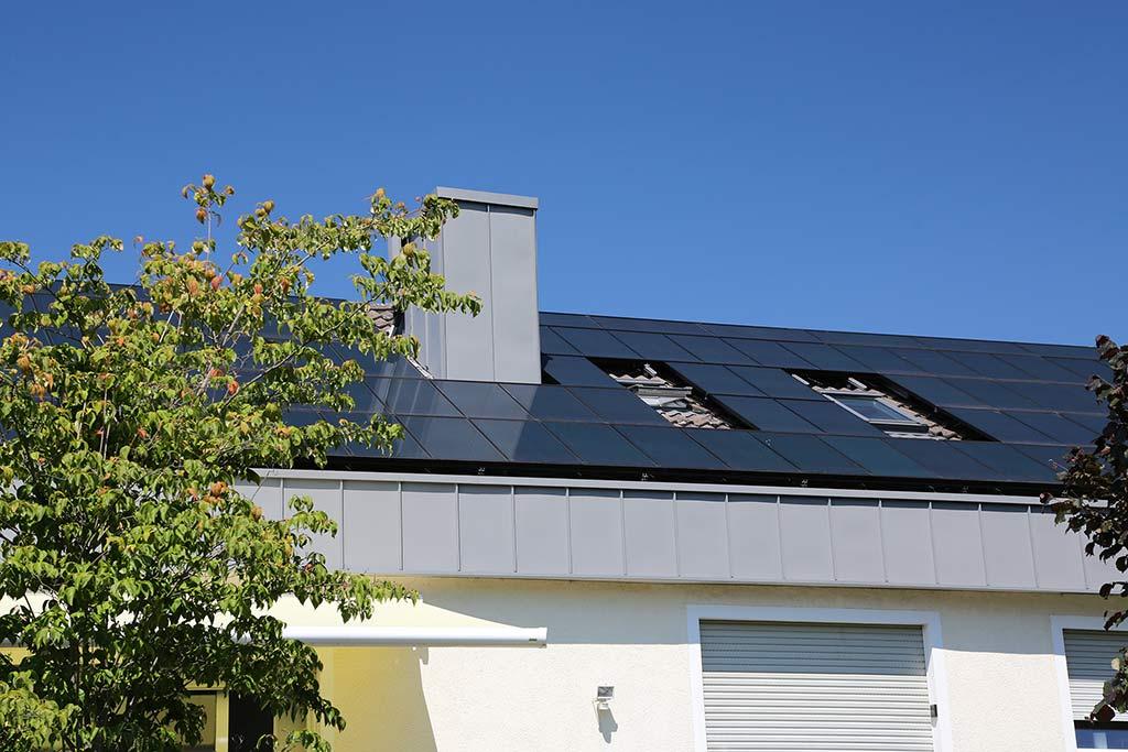 Blick auf ein Gebäude der IWO-Modellvorhaben