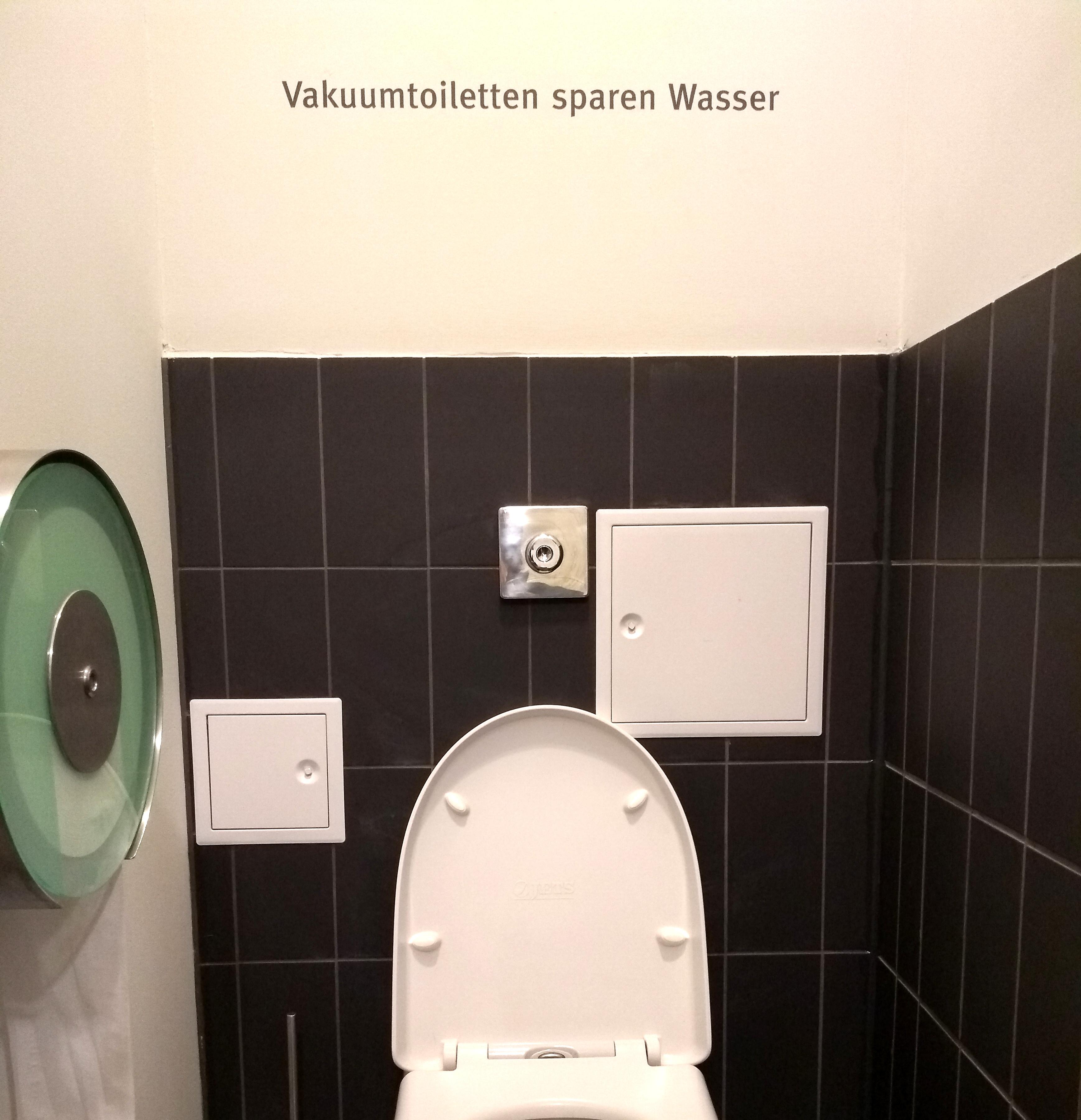 In Vakuumtoiletten wird das Schwarzwasser separat erfasst und kann dann in Wärme und Strom umgewandelt werden. (Foto: RD)