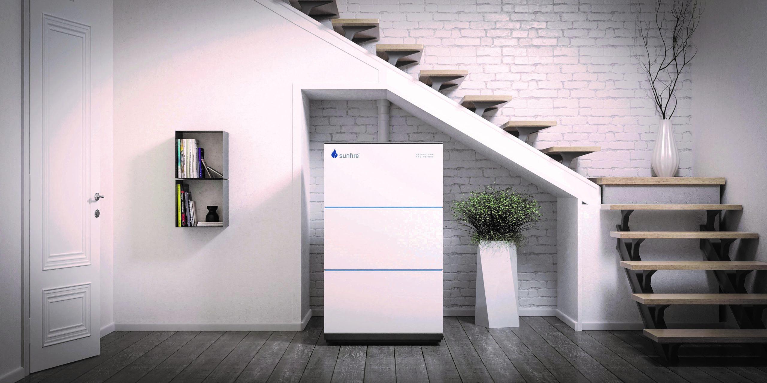 Die Sunfire-Home ist die erste Brennstoffzelle auf Flüssiggasbasis am Markt (Foto: Sunfire GmbH)
