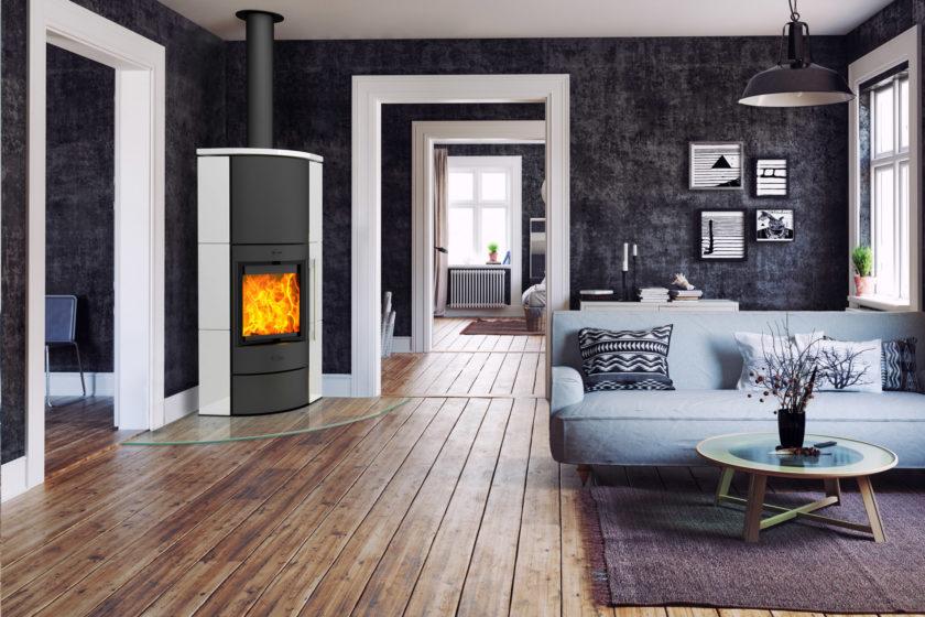 Moderne Feuerstätten reduzieren die Emissionen um bis zu 85 Prozent und den Holzverbrauch um rund ein Drittel (Foto: HKI Industrieverband Haus-, Heiz- und Küchentechnik e.V.)