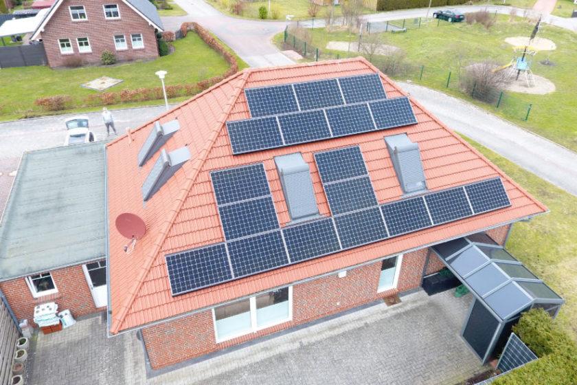 Luftaufnahme Haus Vinke in Norden ©Powertrust GmbH