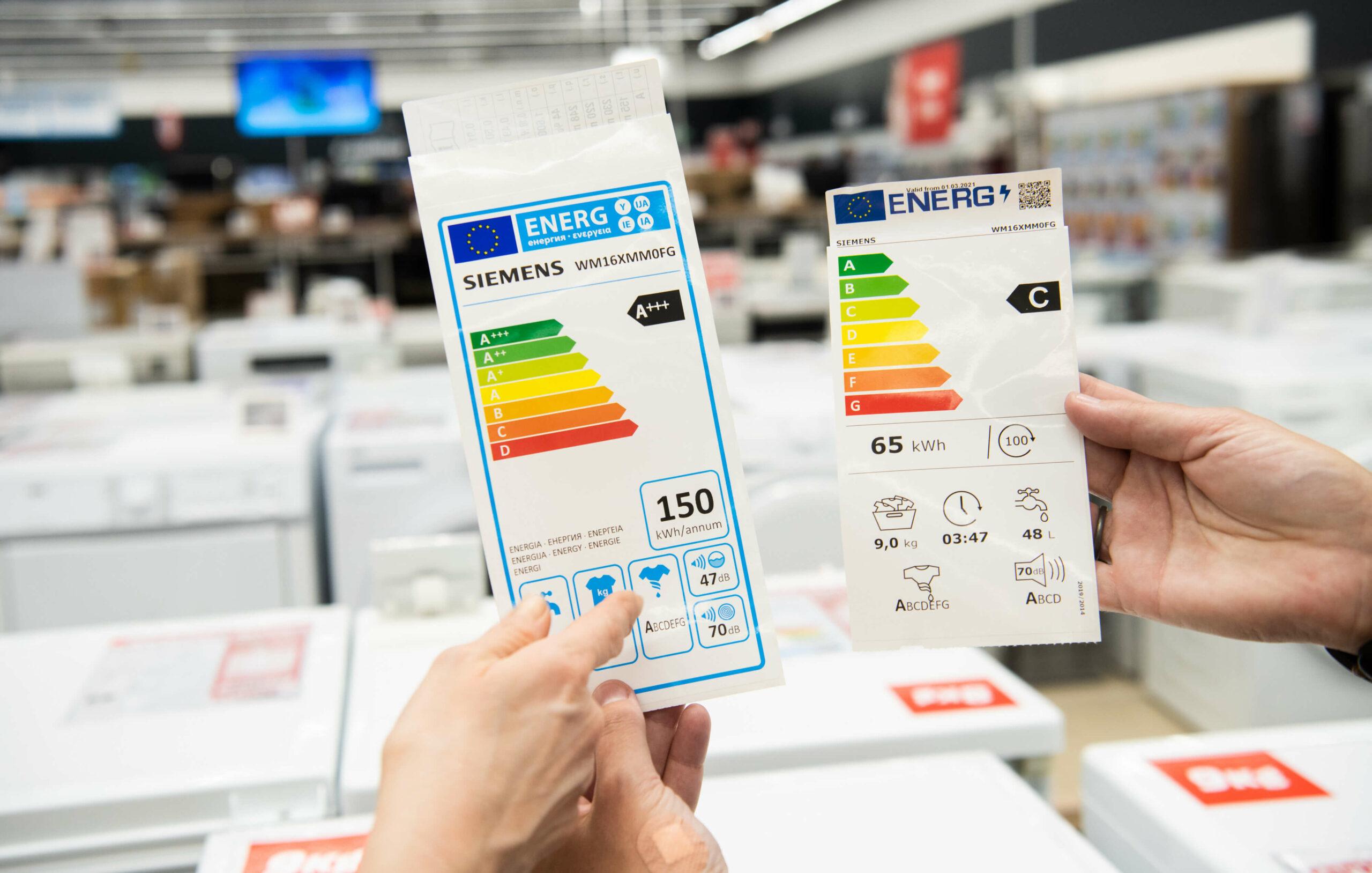 Kunden können mit dem neuen Energielabel wesentlich leichter den Energieverbrauch von z. B. mobilen Klimageräten einschätzen. (Foto: Copyright Europäische Union, 2021)