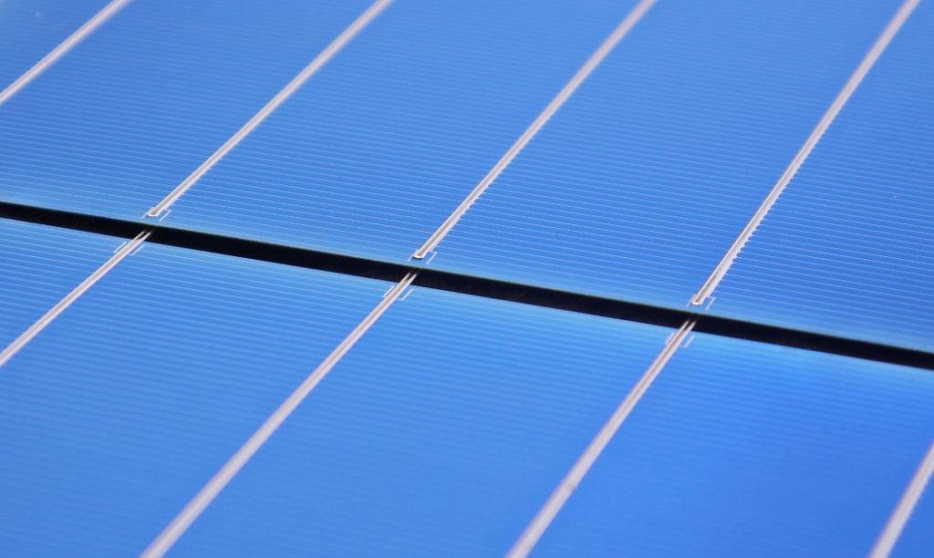 Verschaltete Solarmodule